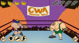 Ghetto Wrestling Association wriot game