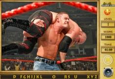 John Cena Find Alphabets