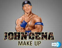 Wrestling star John Cena Makeup